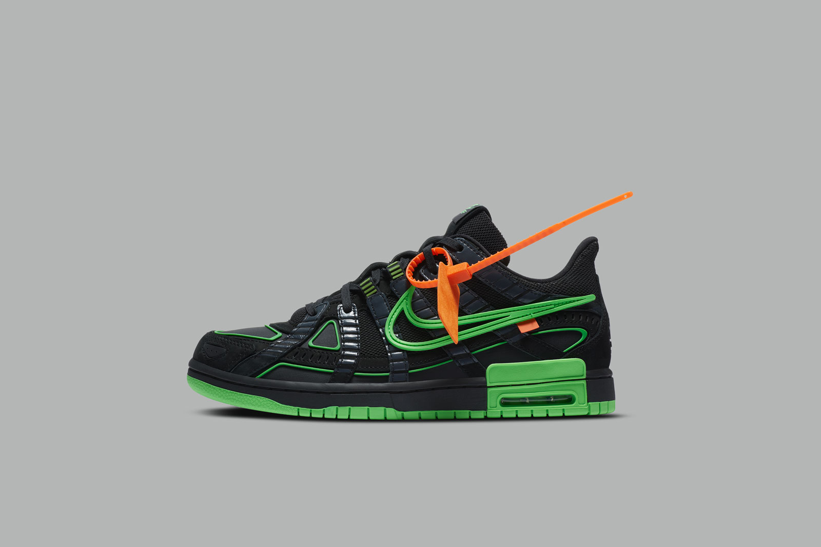 "Nike x Off-White Rubber Dunk ""Green Strike"""